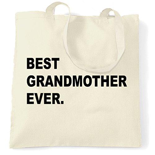 Migliore Nonna Mai, Gran Compleanno, Natale, Nonna Nan Tote Bag Naturale