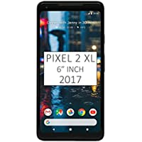 "Pixel 2 XL Phone (2017) by Google, 64GB G011C, 6"" inch Factory Unlocked Android 4G/LTE Smartphone (Just Black)"