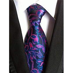 Xjwq - Corbata de Seda para Hombre, 8 cm, Slim Neckties Mens Necktie 67