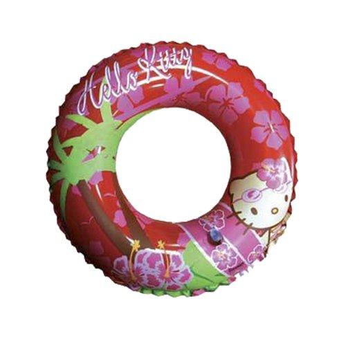 WDK Partner - 221100 - Jeu de Plein Air - Bouée gonflable Hello Kitty - D50 cm