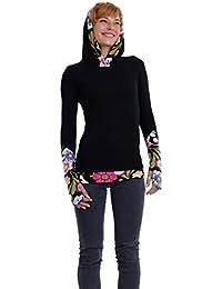 Femme Sweats à Capuche Pull Hoodie / Sweat-shirt Casual manches longues femmes par 3Elfen