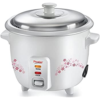 Buy bajaj rcx 5 18 litre rice cooker online at low prices in india prestige prwo 15 500 watt delight electric rice cooker with steaming feature white fandeluxe Image collections
