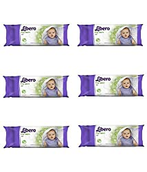 Libero Baby Wipes, Baby Wipes, Pack of 6