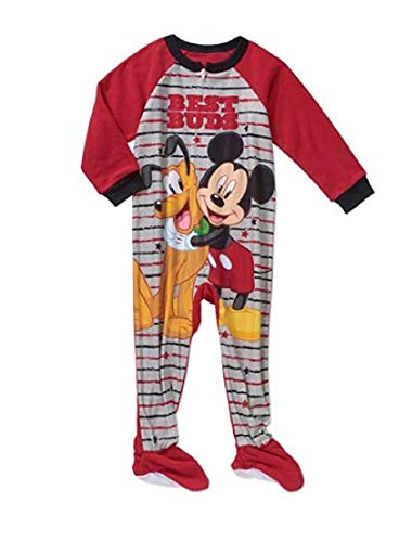 Disney Mickey Mouse & Pluto Buds Footed Pajamas Blanket Sleeper (4t) - Footed Sleeper Pajamas