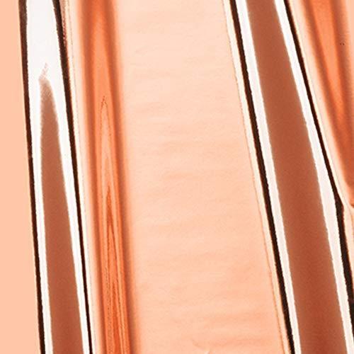 Möbelfolie d-c-fix Chrom Metallic Hochglanz rosegold Folie 45cm Breite Laufmeterware Plotter-folie Glanz