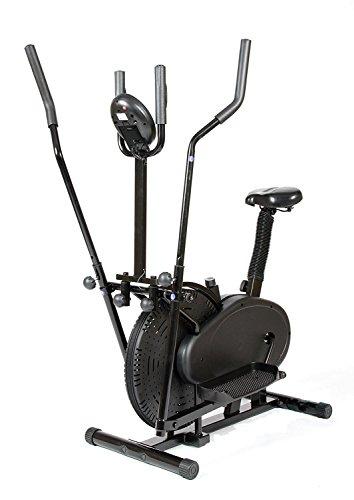 CDW Bicicleta eliptica y estatica 2 en 1 eliptical Trainer