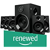 (Renewed) Logitech Z607 5.1 Surround Sound Speaker System with Bluetooth (Black)