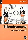 Silbentrennung: Lernzirkel ab Klasse 2