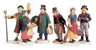 Lemax - Village People Figurines,Set/6