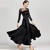 17fdbfa7d8 ZTXY Vestidos de Baile para niñas Vestidos de Baile para Las Mujeres Negro  Hielo Seda Terciopelo
