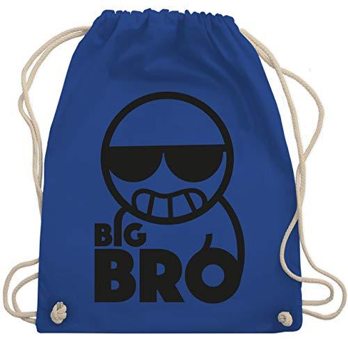 Geschwisterliebe Kind - Big Bro - Unisize - Royalblau - WM110 - Turnbeutel & Gym Bag
