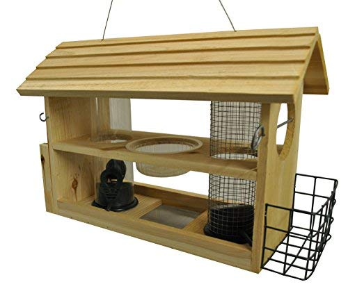 Selections Vogelfutterstation aus Holz