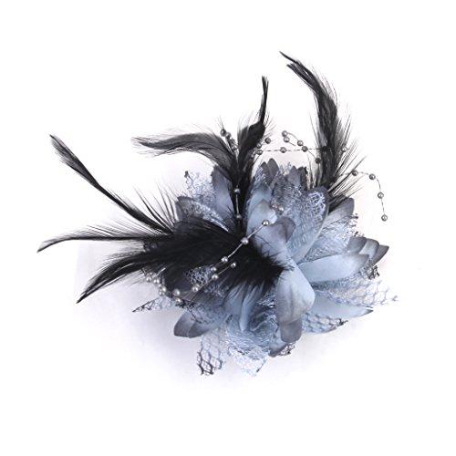 phenovo-elastique-a-cheveux-broche-bracelet-accessoire-polyvalent-gris