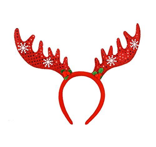 Smile YKK Hirsch Form Weihnachten/Halloween Dekor Kind Erwachsene Haarschmuck Haarband (Für Kostüme Kinder Online Halloween)