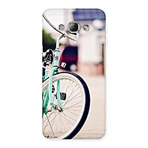 Neo World Cycle Wheel Back Case Cover for Galaxy A8
