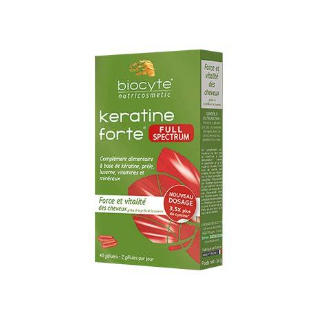 Biocyte Keratine Forte Full Spectrum 40 Kapseln