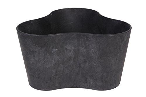 artstone-pot-de-fleurs-bac-plante-trio-claire-rsistant-au-gel-et-ultralger-noir-26x14cm