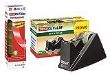 tesa Easy Cut® Tischabroller Economy ecoLogo®, inkl. 1 Rolle tesafilm® / Büro-Spar-Set (1 Abroller + 8 Rollen extra)