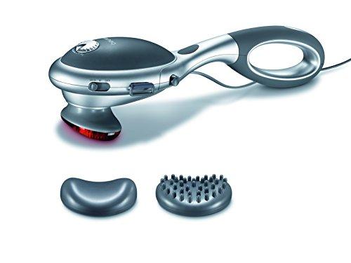 Beurer MG 70 Infrarot-Massagegerät,Kopfmassage, Rückenmassage und Beinmassage mit verschiedenen Aufsätzen