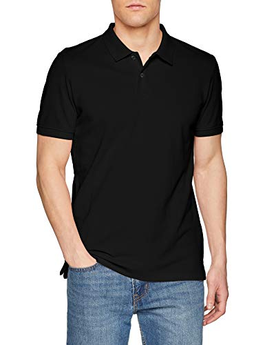 s.Oliver Herren Poloshirt 03.899.35, Schwarz (Black 9999), Large