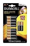 Duracell MEGA Pack LR6 / AA / R6 / MN 1500 1,5 V Alkaline Batterie - 1x Blister