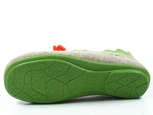 Manitu 340205 Pantofole Donna Beige