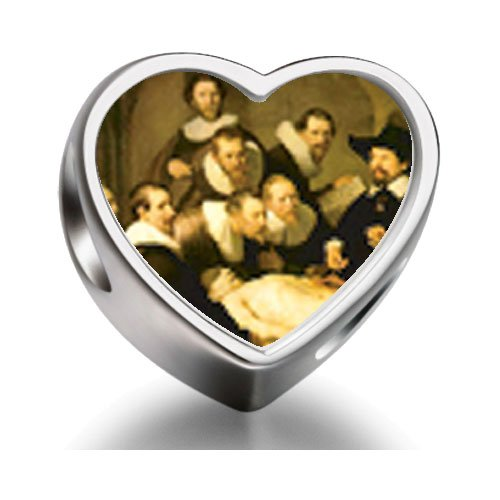 rarelove-sterling-silver-the-anatomy-lecture-rembrandt-art-heart-photo-charm-beads