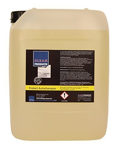 CLEANPRODUCTS Autoshampoo Konzentrat mit Wachs - 10 kg - Mischung 1:100, auch als Reinigungszusatz für Hochdruckreiniger geeignet