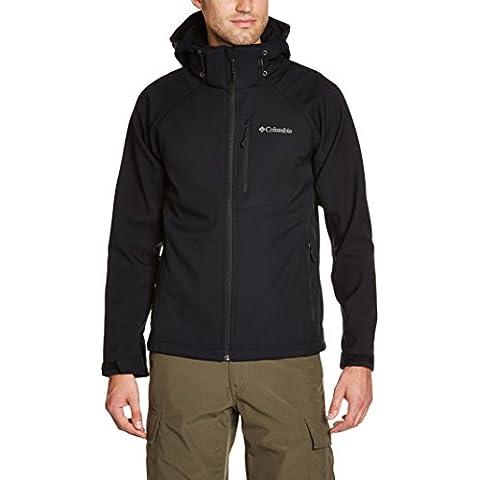 Columbia Cascade Ridge II Softshell - Chaqueta para hombre, color negro, talla L