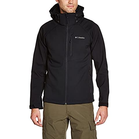 Columbia Cascade Ridge II Softshell - Chaqueta para hombre, color negro, talla M