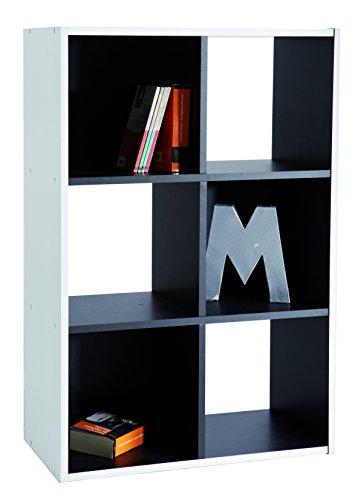 13Casa simply d16 - libreria 60,3*29,4*89,6h - nero