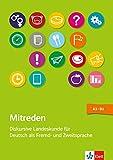 Mitreden: Deutsch als Fremd- und Zweitsprache. Lehrerbuch mit Kopiervorlagen + Online-Angebot