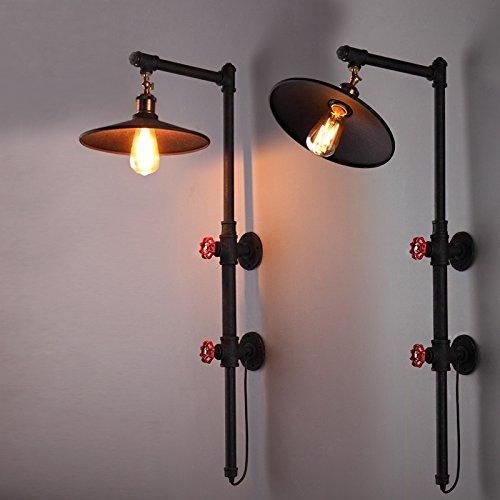 LIVY Illuminazione di LOF retro industriale camera da letto corridoio balcone luci lampada retrò scena bar lampada acqua caffè - Scena Tiro