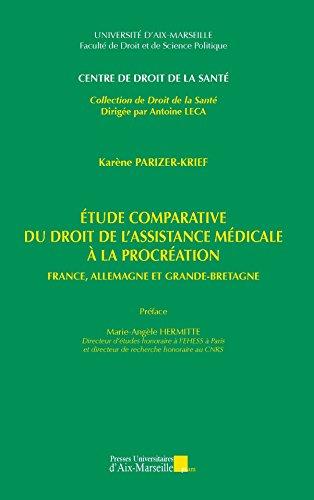 Étude comparative du droit de l'assistance médicale à la procréation - France, Allemagne et Grande-Bretagne