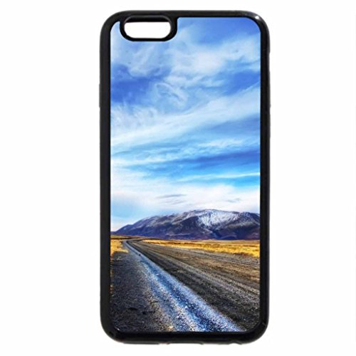 iPhone 6S / iPhone 6 Case (Black) girl looking down a dirt road hdr