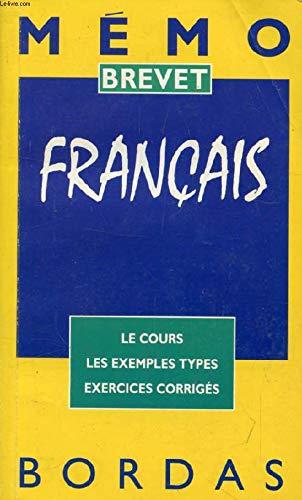 MEMO BREV FRANCAIS (Ancienne Edition)