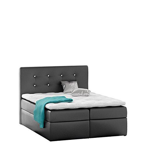 Boxspringbett Mezi Stilvoll Doppelbett Bett Schlafzimmer Bettkasten Lattenrost Matratze Bettgestell