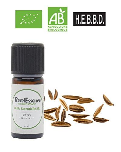 Huile Essentielle de Carvi Bio Revelessence (10 ml)