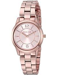 aee00c6c97b4 Michael Kors Runway Analog Gold Dial Women s Watch - MK6591