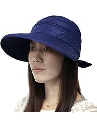TININNA Gorra Con Visera Sombrero Mujer de Summer diseño de playa de perro Bulldog con un sombrero ala ancha de mujer con capucha