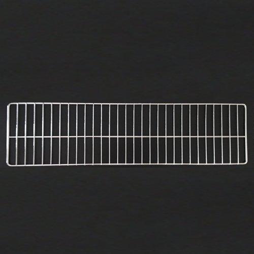 Artikelbild: 1 Stück Tegometall Frontgitter L 100 H 17 cm verchromt Art.: 14420538