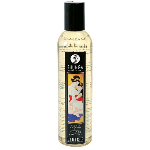 Shunga erotische Massageöl Libido - Exotic Fruits, 250 ml