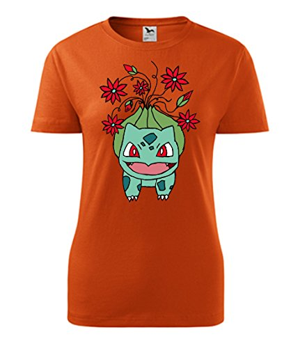Colour Fashion -  T-shirt - Donna Orange