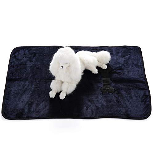 Zhangzhiyua coperta per cani | coperta pet throw per gatti, cuccioli, gattini | soft throw per cane di taglia piccola,b,m