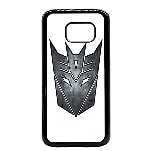 Transformers deceptacon Rubber Bumper Hard Back Phone Case Cover for iPhone & Samsung's (iPhone 7/7s)