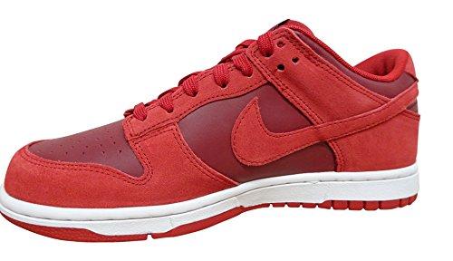 Nike Dunk Low, Scarpe da Basket Uomo gym red team white 601