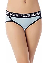iB-iP Women's Comfort Soft Cotton Sports Fashion Briefs Low Rise Hipster Panty