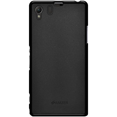 Amzer 96629 Pudding TPU Case for Sony Xperia Z1 L39h (Black)  available at amazon for Rs.559
