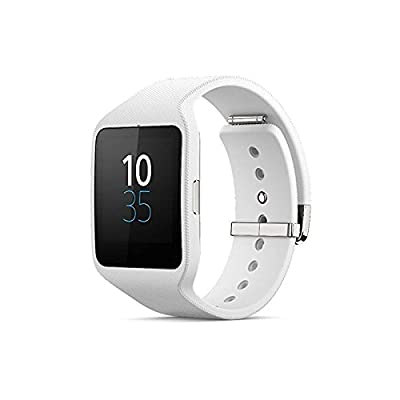 Sony Mobile SmartWatch 3 Montre Fitness et Tracker d'Activité Compatible avec Android 4.3+ Smartphones par Sony Mobile