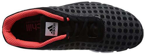 adidas Adipure 360.2 Chill, Low-Top Sneaker homme Schwarz (Core Black/Core Black/Solar Red)